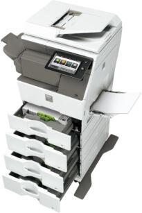 MXB355W teljes papírkapacitás