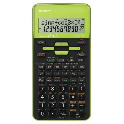 EL531THBGR zöld számológép