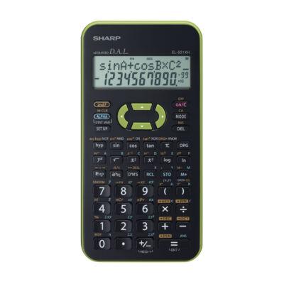 EL531XHGR zöld számológép